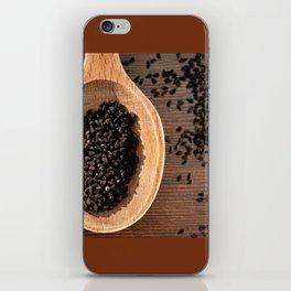 Black Nigella Sativa dry seeds portion iPhone Skin