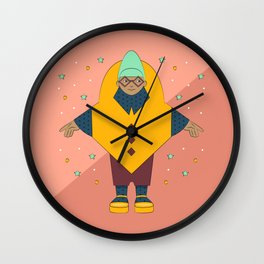 Beehive Fashion Plate Wall Clock