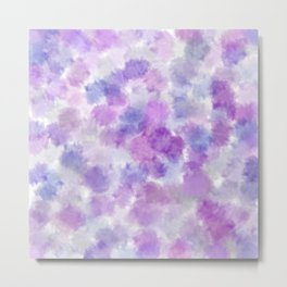 Purple Petals Metal Print