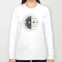 vienna Long Sleeve T-shirts featuring Textures/Abstract 110 by ViviGonzalezArt