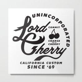 LC California Custom Metal Print