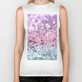 Unicorn Girls Glitter #7 #shiny #pastel #decor #art #society6 Biker Tank