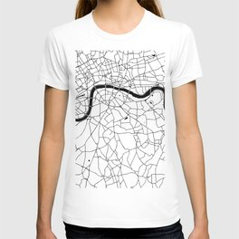 London Minimal Map T-shirt