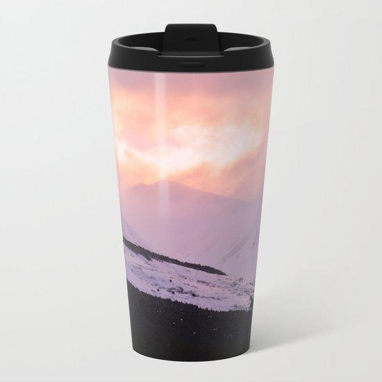 Rose Quartz Turbulence - III Metal Travel Mug