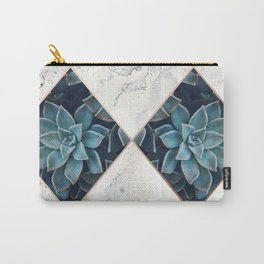 Copper & Marble & Succulent 05 Carry-All Pouch