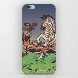 African Wild Dog iPhone Skin