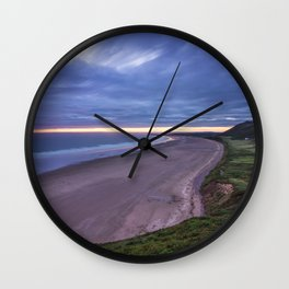 Rhossili Bay Wall Clock