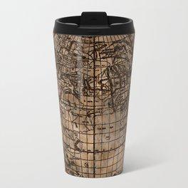 Vintage Old World Map Travel Mug