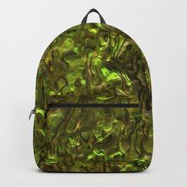 Abalone Shell | Paua Shell | Yellow Tint Backpack