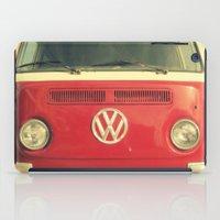 vw iPad Cases featuring VW Coastin' by RichCaspian