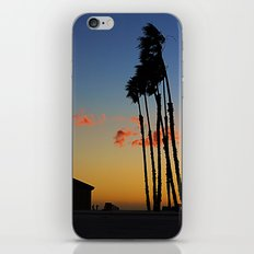 Long Beach Hut iPhone & iPod Skin