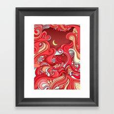 Dream Weave Framed Art Print