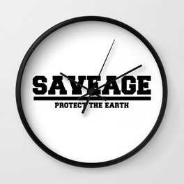 Saveage Wall Clock