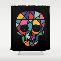 faith Shower Curtains featuring Faith by Andy Westface