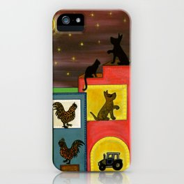 """Moonlight & Silhouettes (i)"" by ICA PAVON iPhone Case"