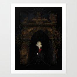 Gates of the Underworld Art Print