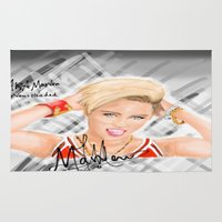 miley Area & Throw Rugs featuring Miley by Marven RELOADED