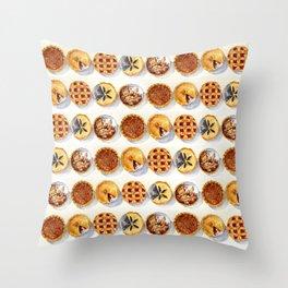 Pies Throw Pillow