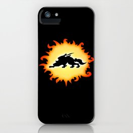 Amaterasu Logo- Black iPhone Case