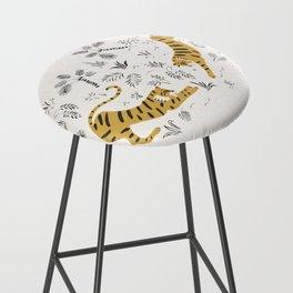 Tiger Dive Bar Stool