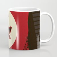 kitchen Mugs featuring Hell's Kitchen by Danny Haas