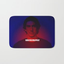 """Acting is really... """"Adam Driver"""" Celebrity with Quote Bath Mat"""