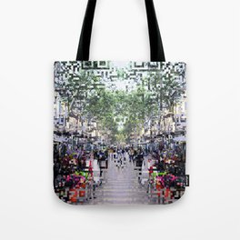 feeling proximity without unrest or unruly burdens Tote Bag