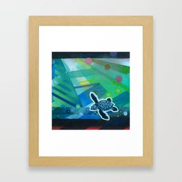 the first day Framed Art Print