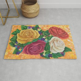 Bouquet of Roses Rug