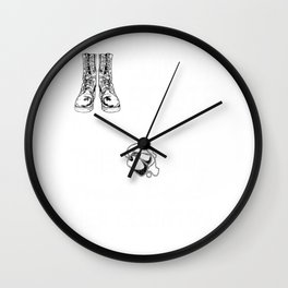 Female Veteran from Colorado Gift for Coloradan Woman Veteran Wall Clock