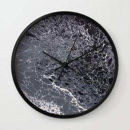 092918 b&w Wall Clock
