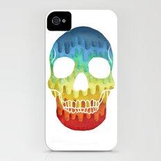 Paper Skull Slim Case iPhone (4, 4s)