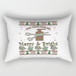 New Hair Stylist Christmas Rectangular Pillow