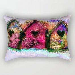 Baby Birdhouses Rectangular Pillow