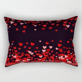 Valentine Hearts and Tarts Rectangular Pillow