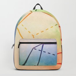 The Elements Geometric Nature Element of Spirit Backpack
