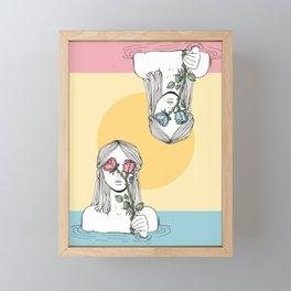 Blindsided Framed Mini Art Print