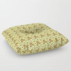 Cute Floral Floor Pillow
