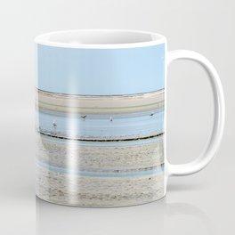 A flock of seagulls in the bay Coffee Mug