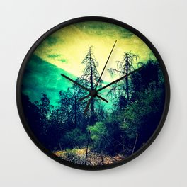 Looking Out through the Rabbit-Hole Wall Clock