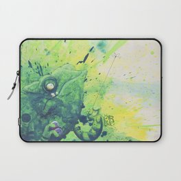 anti agression therapy for chameleons Laptop Sleeve