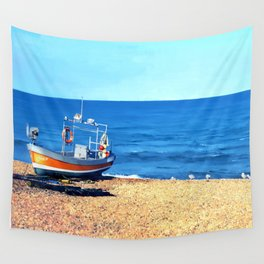 Grace on the Beach Wall Tapestry