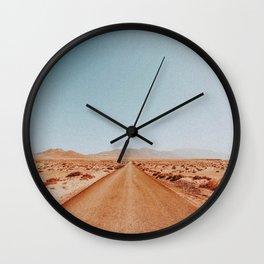 Desert Road Trip VIII Wall Clock