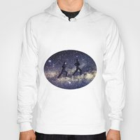 running Hoodies featuring Running by Cs025