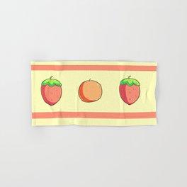 Strawberries and Oranges Hand & Bath Towel