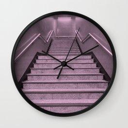 Tube Stairs Wall Clock