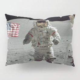 Apollo 17 - Last Man On The Moon Pillow Sham
