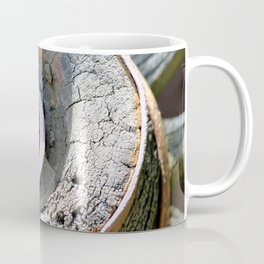 Wooden Wheel Coffee Mug
