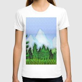 Landscape in living room ... T-shirt