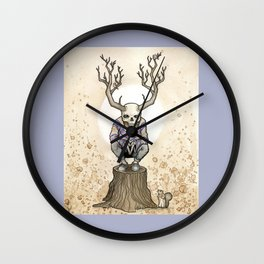 The Contemplation Wall Clock